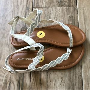 New! Girls sandals  Size 3